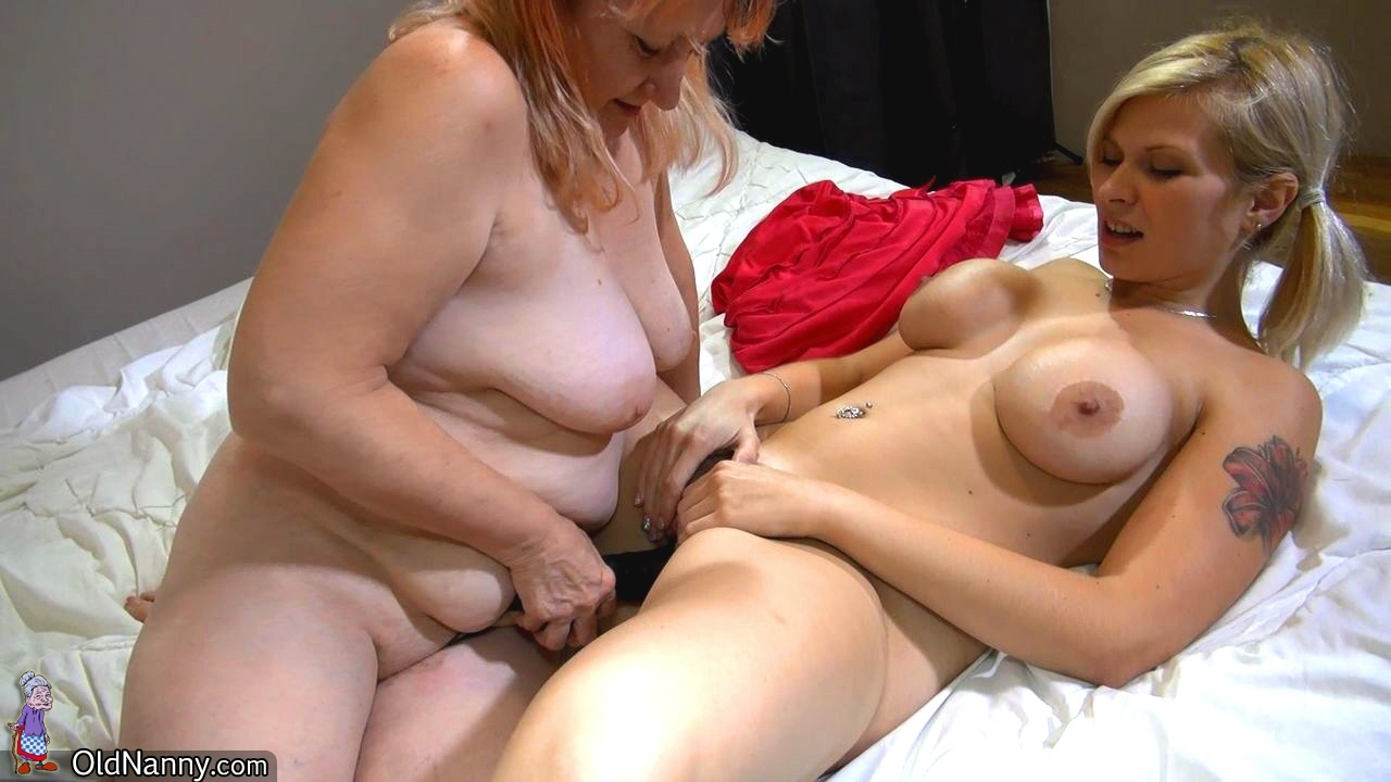 Older and young gfs tugging hard